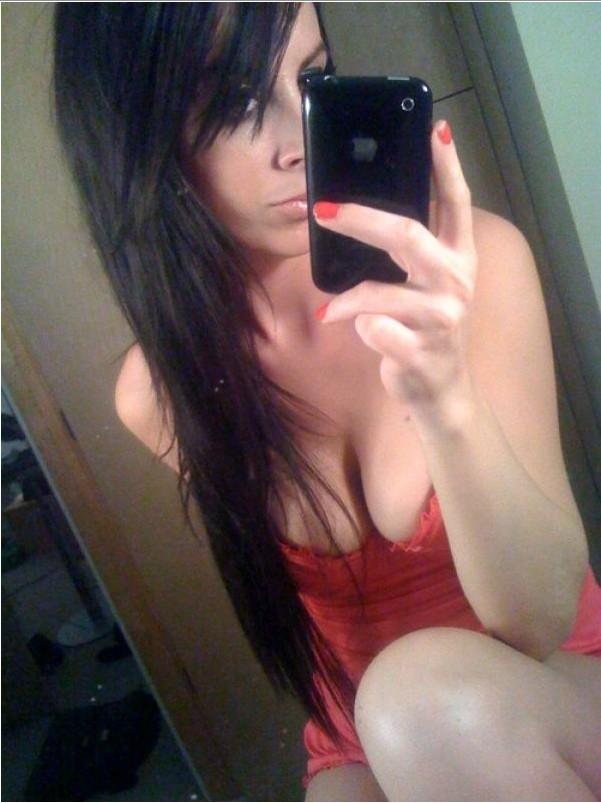 Сексуальные селфи девушек перед зеркалом - секс порно фото